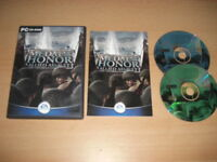 MEDAL OF HONOR ALLIED ASSAULT Pc Cd Rom MOH  HONOUR -  FAST POST