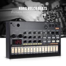 KORG VOLCA BEATS Analog Rhythm Machine Synthesizer with MIDI Portable Q1L3