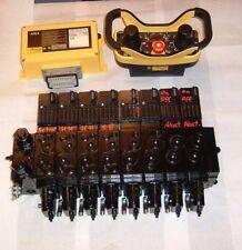 HBC,Forstfunk,Danfoss PVG32 Prop-Hydrauliksteuerblock mit Funk für Holzladekran,