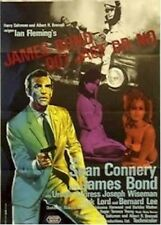 JAMES BOND ~ DR NO GERMAN 23x33 MOVIE POSTER 007 Sean Connery NEW/ROLLED!