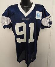 DALLAS COWBOYS NIKE NFL PRACTICE WORN JERSEY KENNETH BOATRIGHT 14-54 BERLIN 91 N