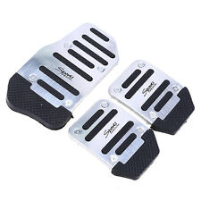 Sports Silver and black Non-Slip Pedal Universal Manual Series kit Pad Cover