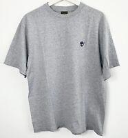 Timberland Men Grey T-shirt Size Medium