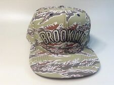 CLEARANCE PRICE! BROOKLYN NETS 2014 -  DESERT CAMOFLAGE HAT - snapback