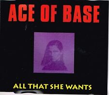 ACE of base: all that she wants MAXI CD 4 tracks