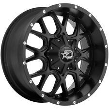 """Dropstars 645B 18x9 5x4.5""""/5x5"""" -12mm Black/Milled Wheel Rim 18"""" Inch"""