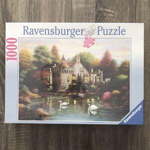 "Ravensburger Puzzle 1000 Hidden Lake Chateau 27 9/16"" X 19 11/16"""