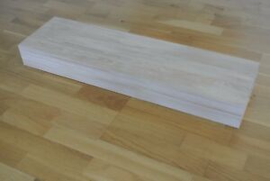 engineered oak stair treads for floating staircase - untreated
