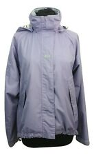 HELLY HANSON Jacket Size M Purple Outdoors Casual Raincoat Hooded Walking