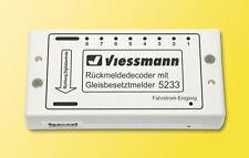 SH Viessmann 5233 Rückmeldedecoder mit Gleisbesetztmelder Fabrikneu