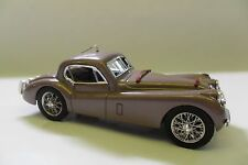 BRUMM 1:43 AUTO DIE CAST JAGUAR XK120 COUPÈ 1948 ROSA ANTICO OLD-ROSE  ART R106
