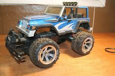 "16"" Jeep Rubicon RC Crawler  - 1/10 Scale SCX10 Nikko RC Car Hard Body As-IS"