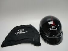 Yamaha Star Mohawk Pinstripe Shorty Helmet. STR-06HMH-BK-SM Size Small NWT W/Bag