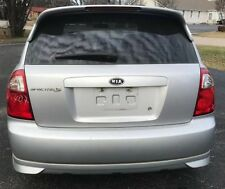 UN-PAINTED REAR SPOILER FOR 2005-2009 KIA SPECTRA 5 HB W/3RD LED BRAKE LIGHT!!