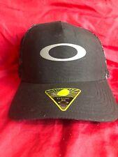 Oakley Snapback Hat New Classic Snap Black Print New