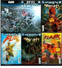 BATMAN/FLASH THE BUTTON SET(#21,22)+DC UNIVERSE: REBIRTH #1(CGC EM)(9.8)WATCHMEN