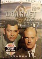 Dragnet Season 1 DVD w/BONUS Radio Episode Disc Jack Webb RARE Edition NEW fr/sh