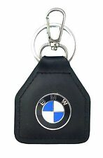 BMW Car, Motorcycle, Round Logo, Quality Leather Keyring
