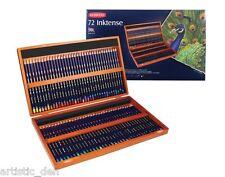Derwent Intense Pencil Wooden Box Set of 72 Authentic Intense coloured pencils