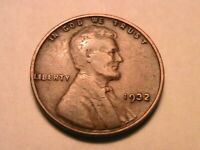 1932-P Lincoln Fine nice F Original Brown Toned 1 Wheat Cent One Penny US Coin