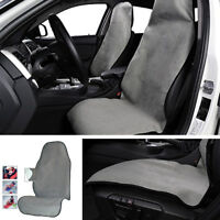 1X Car Seat Protector Cushion Pet Mat Portable Sweat Towel Grey for Beach/Sports