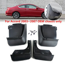 Mud Flap Flaps SPLASH GUARDS for HONDA Black 100% new 4pcs *1 High Quality