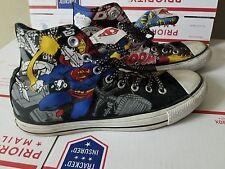 Converse Chuck Taylor Superman High Tops vintage Womens 10 Mens 8 DC Comics shoe