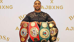 Anthony Joshua Boxing Career Collection DVD