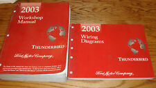 Original 2003 Ford Thunderbird Shop Service Manual + EVTM Wiring Diagram Set 03