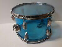 "70's LUDWIG BLUE VISTALITE 13 "" TOM - made in USA"