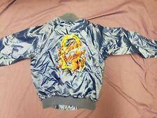 Vintage Nylon Eddies Fabulous 50's Casino Reno Nevada Bomber Jacket L
