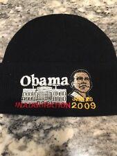 Barack Obama 2009 Inauguration Black Winter Hat - Washington D.C