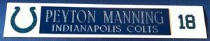 PEYTON MANNING NAME PLATE FOR HELMET/FOOTBALL/MINI HELMET/CARD /JERSEY/PHOTO