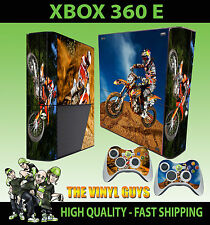 XBOX 360 E MOTO X KTM MOTO CROSS OFF ROAD MOTORBIKE SKIN  & 2 PAD SKIN