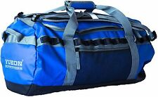 """Yukon Outfitters Expedition Rugged 22"""" 40L Blue Duffle Bag / Backpack - New"""