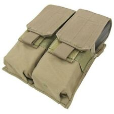 Condor Double M4 Mag Pouch For .223 & 5.56 Magazines - Tactical Molle -TAN #MA4