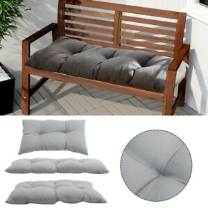 Garden Bench Cushion Seater Indoor & Outdoor Chair Cushions Super Thick Seat Pad