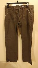 Women's Miss Me Cargo Pants Chocolate Brown Size 29