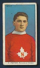 1910 C60 Imperial Tobacco Card #77 R. Fortier Maple Leafs Quebec LaCrosse