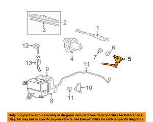 MAZDA OEM 01-07 B3000 Wiper-WINDSHIELD-Arm & Pivot Assembly Left 1F8076658
