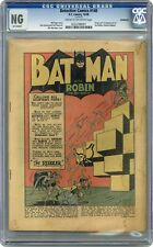 Detective Comics #140 CGC NG Coverless 0232788001 1st app. the Riddler