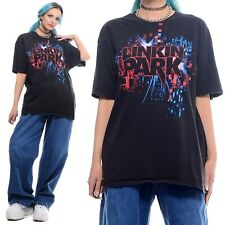 Vtg 2000s Linkin Park Band Nu Metal Y2K Unisex Graphic Tee Original T-Shirt M L
