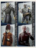 Topps Star Wars Card Trader Digital Villains Wave 1 Complete Set Of 4 Digital