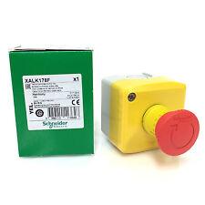 Emergency Stop Mushroom head Control Box XALK178F Schneider 2NC XALK178-F