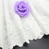 2017 Hot Wide Cotton Embroidery Lace Trims Fabric DIY Pack of 1 Yar HOT