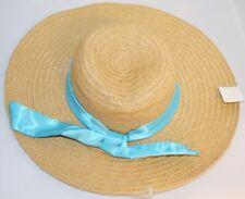 Mujer Negro lunares puro unidad de disquete Paja Ala Ancha Sol Verano Playa  Sombrero A15 e8da817ad20