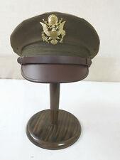 Gr.L (59/60) US ARMY WW2 Officer Crusher cap VISOR CAP HAT Schirmmütze Offizier