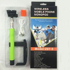 BLUETOOTH SELFIE STICK, EXTANDABLE MONOPOD WITH WIRELESS CONNECTION