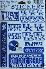 Stickers Set University of Kentucky Wildcats Decal Football NCAA Crafts Phone