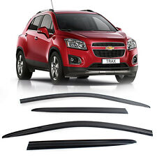 35_Smoke Window Sun Vent Visor Rain Deflector For CHEVROLET 13-17 Trax Gsuv